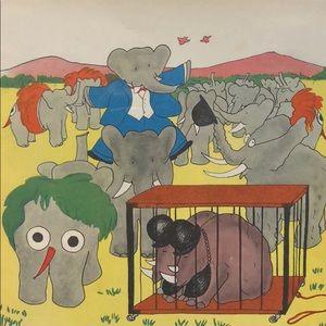 Wall Art - Barbra elephant picture